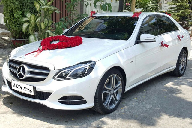 Cho Thue Xe Cuoi Mercedes E200 1