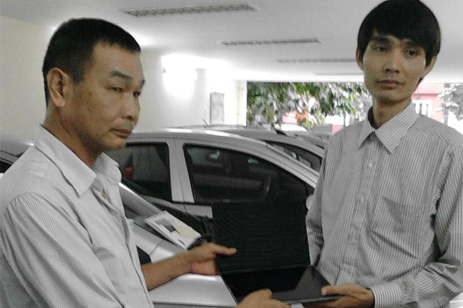 Taxi Green Tra Do Cho Khach